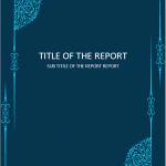 Elegant design cover