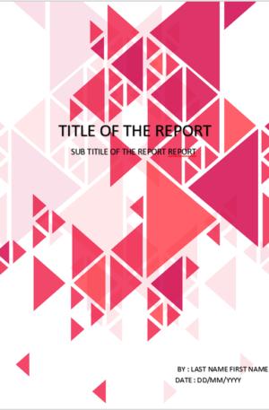Triangles Design Cover