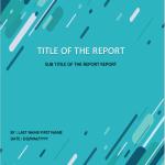Blue Graphic Design Cover