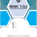 Blue pentagonal tiles cover page