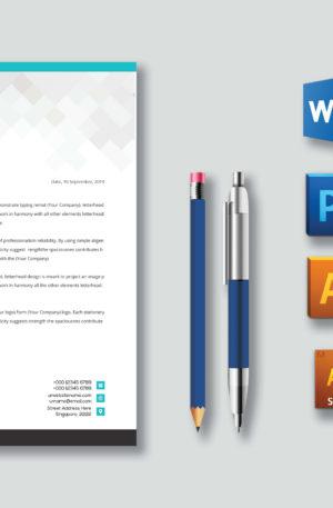 Design Impressive and Professional Letterhead Template